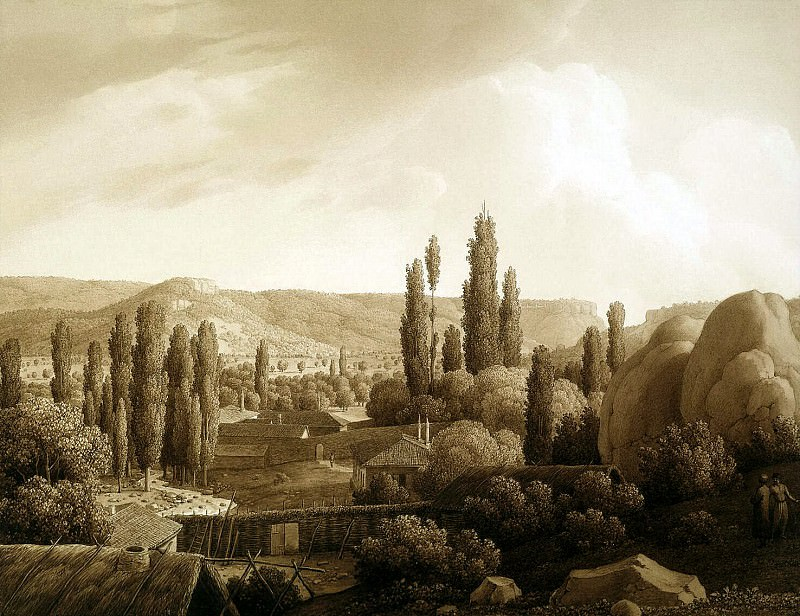 Kyugelgen, Karl von - View of the valley Karalez. Hermitage ~ part 06