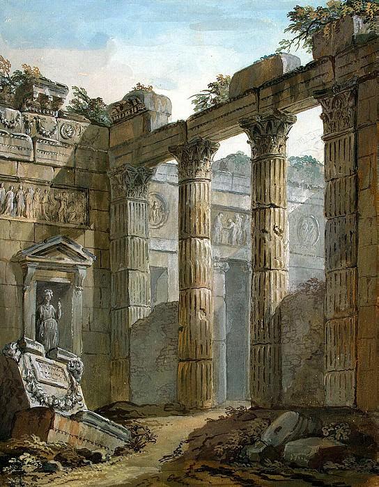Klerisso, Charles-Louis - Architectural Fantasy (11). Hermitage ~ part 06
