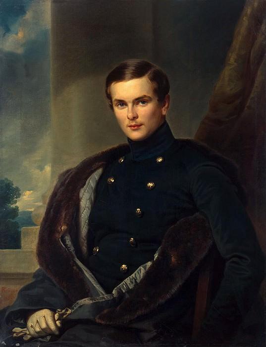 Kruger Franz - Portrait of Fersen. part 06 Hermitage