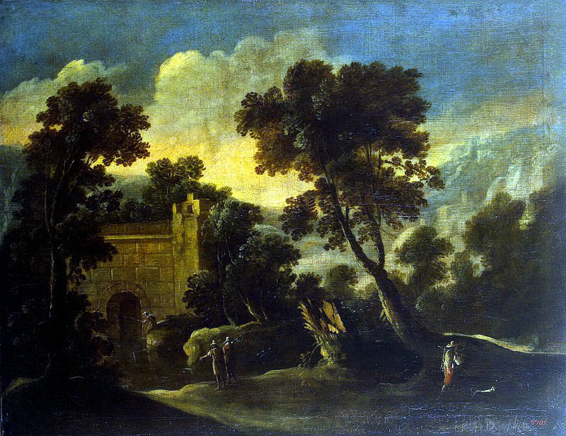 Collantes, Francisco - Landscape with ruins. Hermitage ~ part 06
