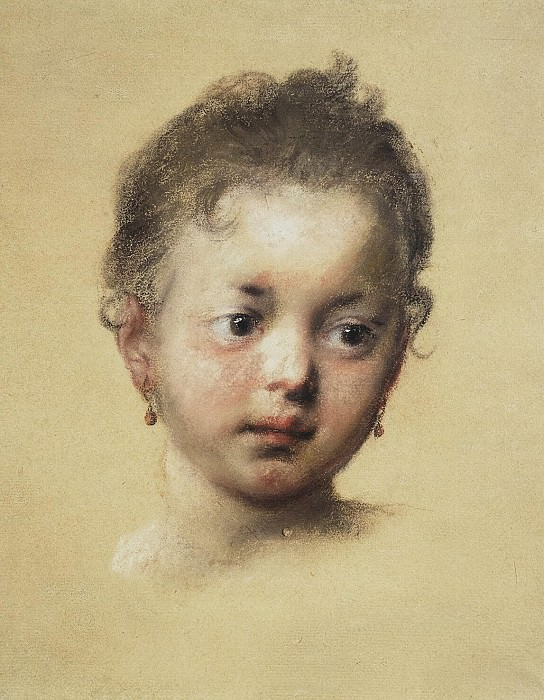 Carriera, Rosalba - Childrens head from the front. Hermitage ~ part 06