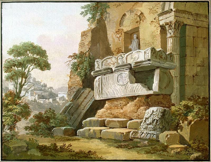 Клериссо, Шарль-Луи - Архитектурная фантазия (2). Эрмитаж ~ часть 6