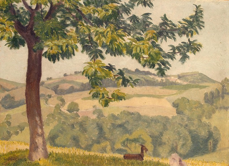 Lacoste, Charles - Southern landscape. Hermitage ~ part 06