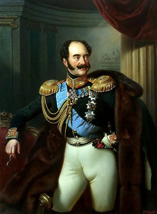 Kruger Franz - Portrait of Count Vladimir Fedorovich Adlerberg. Hermitage ~ part 06