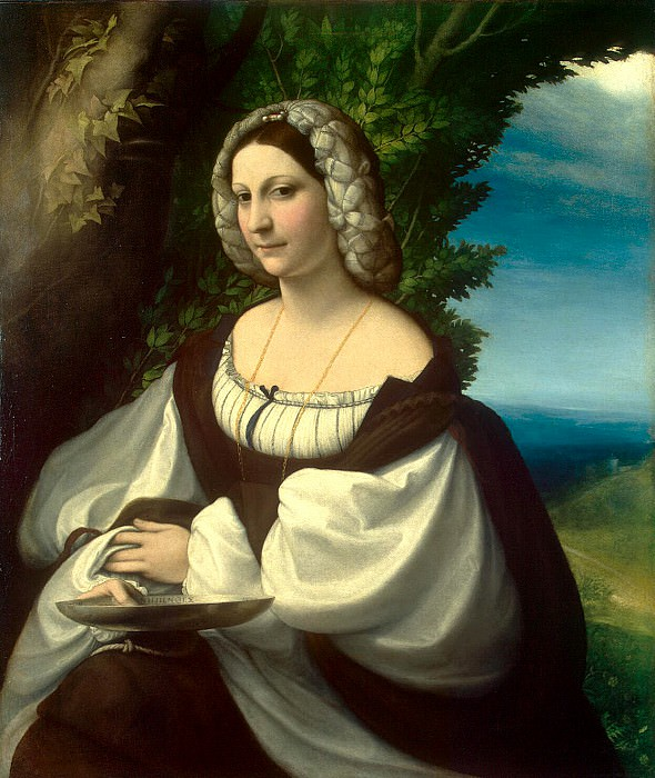 Correggio - Portrait of a Woman. Hermitage ~ part 06