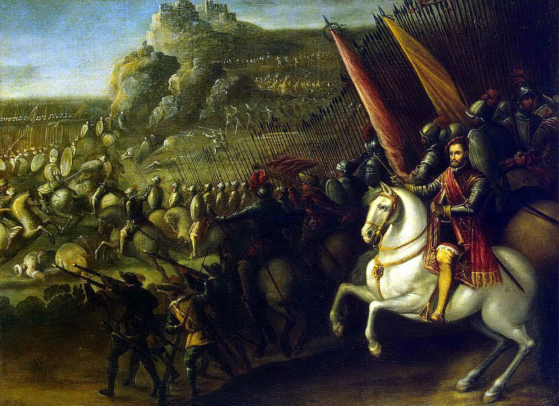 Corte, Juan de la - Battle. Hermitage ~ part 06