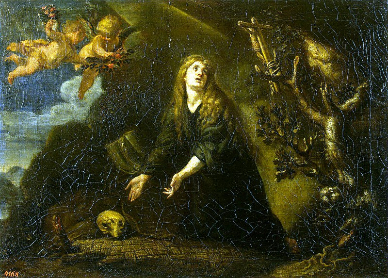 Coello, Claudio - Repentant Mary Magdalene. Hermitage ~ part 06