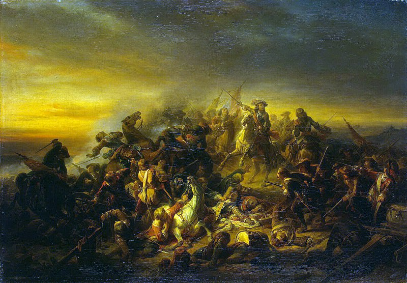 Keyser, Nicaise de - Battle at Seneffe. Hermitage ~ part 06