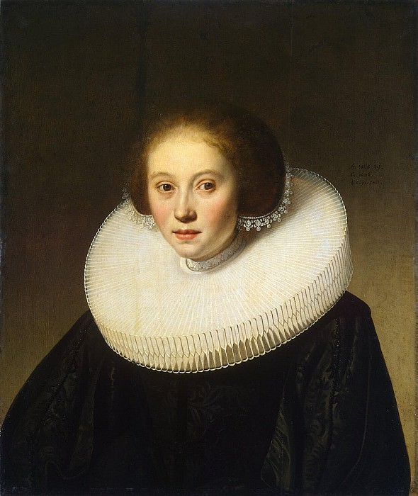 Cape, Jacob Gerritsen - Portrait of a young girl. Hermitage ~ part 06