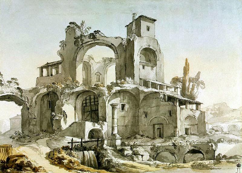 Klerisso, Charles-Louis - Habitable ruin, F. Hermitage ~ part 06