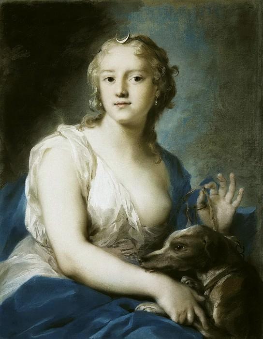 Carriera, Rosalba - Diana. Hermitage ~ part 06