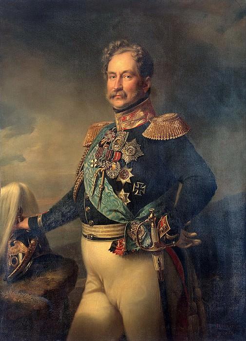 Kruger Franz - Portrait of Orlov. Hermitage ~ part 06