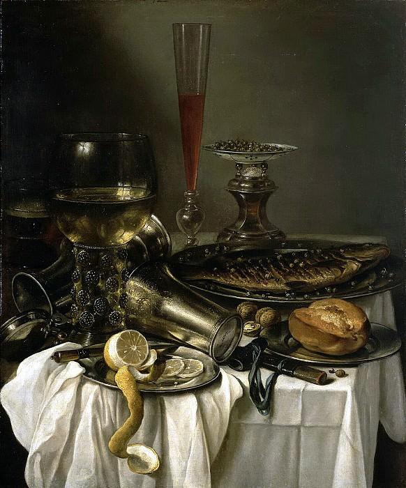 Claes, Pieter - Breakfast with Fish. Hermitage ~ part 06
