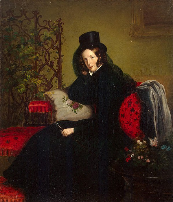 Kruger Franz - Portrait of Empress Alexandra Feodorovna. Hermitage ~ part 06