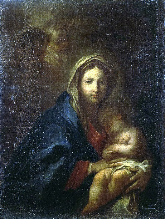 Conca, Sebastiano - Madonna with Child asleep. Hermitage ~ part 06