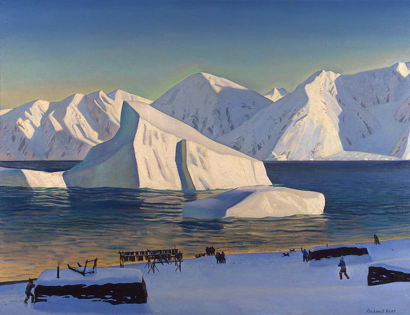 Kent Rockwell - Beginning of November. North Greenland. Hermitage ~ part 06