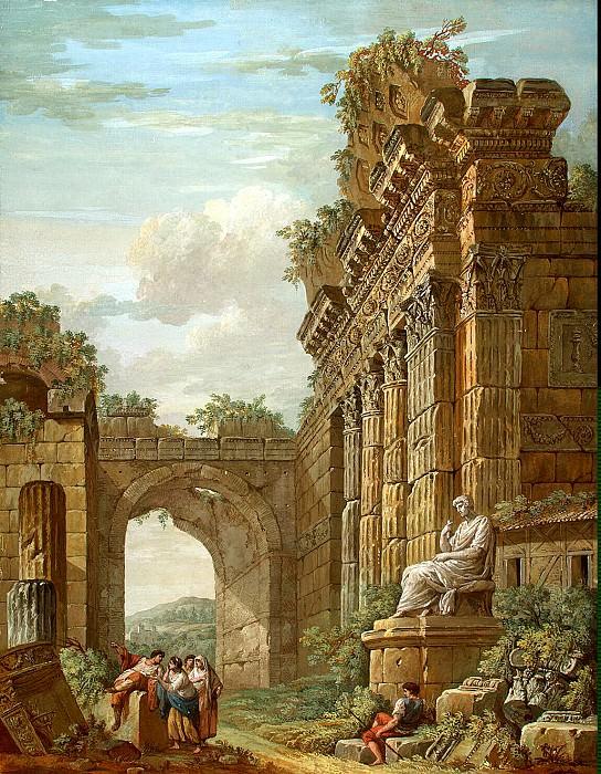 Klerisso, Charles-Louis - Architectural Fantasy (9). Hermitage ~ part 06