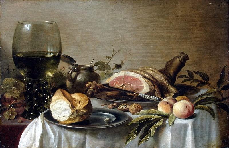 Claes, Pieter - Breakfast with Ham. Hermitage ~ part 06