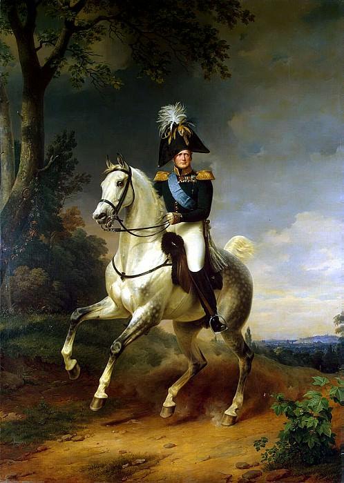 Kruger Franz - Portrait of Alexander I on horseback. Hermitage ~ part 06