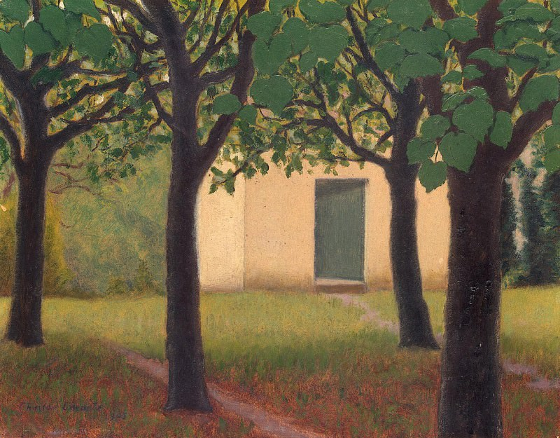 Lacoste, Charles - Little House in the garden. Hermitage ~ part 06