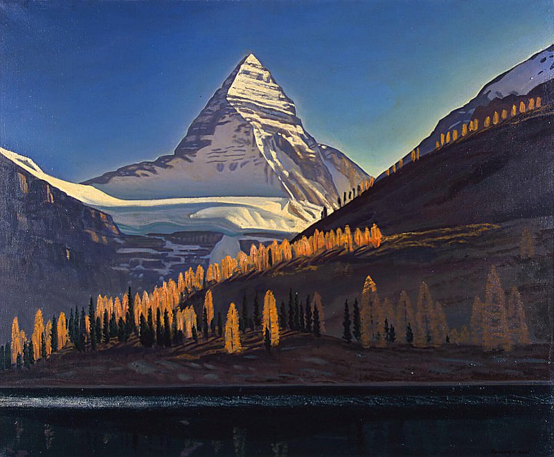 Kent, Rockwell - Mount Assiniboin. Canadian Rockies. Hermitage ~ part 06