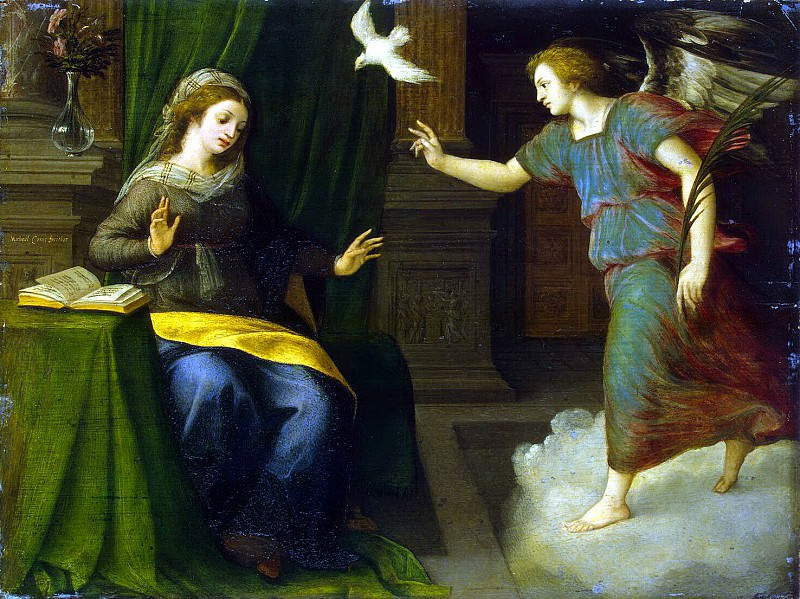 Cox, Michael van - Annunciation. Hermitage ~ part 06
