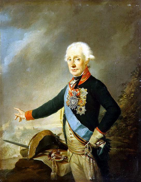 Kreytsinger, Jozef - Portrait of Alexander Suvorov. Hermitage ~ part 06