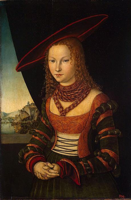 Cranach, Lucas the Elder - Portrait of a Woman. Hermitage ~ part 06