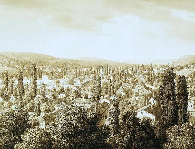 Kyugelgen, Karl von - View of Bakhchisarai. Hermitage ~ part 06
