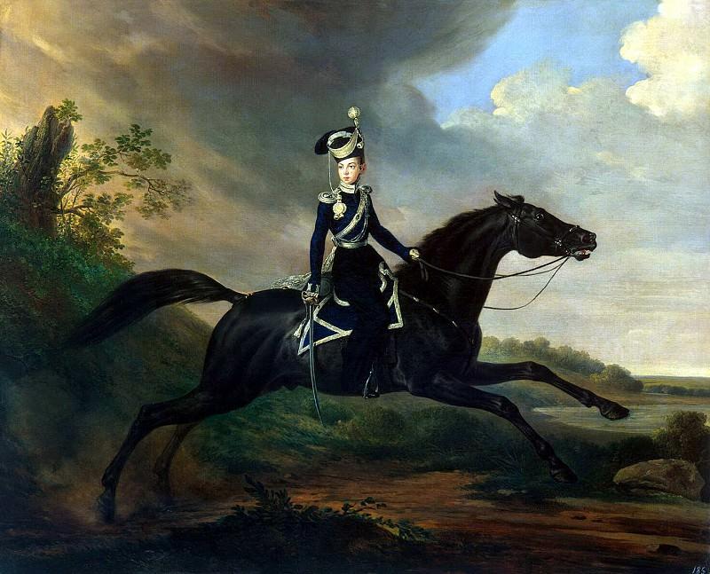 Kruger, Franz - The Great Prince Alexander on horseback. Hermitage ~ part 06