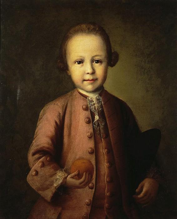 Kolokolnikov, Mina Lukic - Portrait of Savva Mikhailovich Yakovlev child. Hermitage ~ part 06