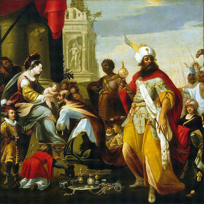 Lallemand Georges - Adoration of the Magi. Hermitage ~ part 06