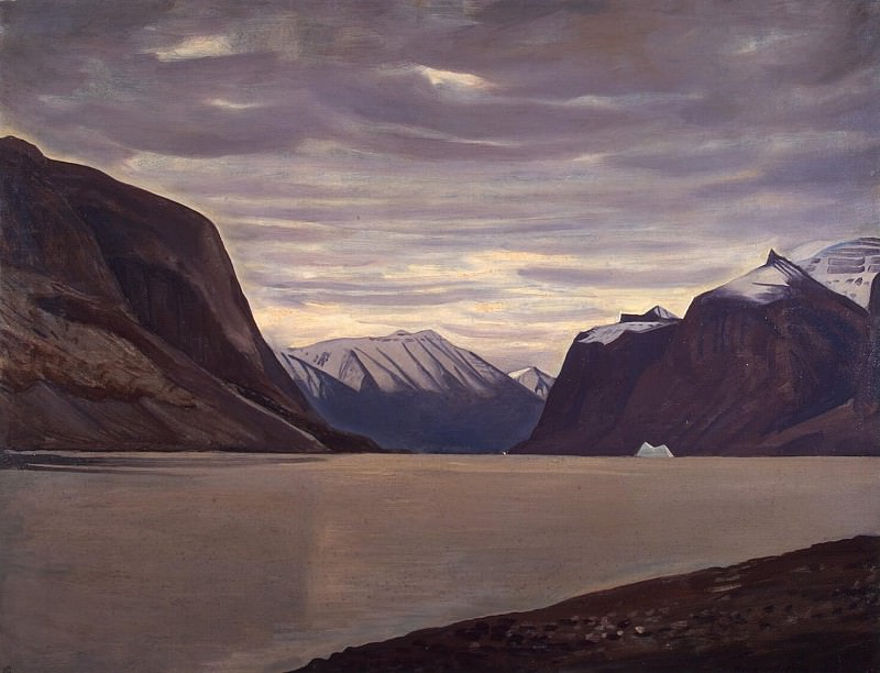 Kent Rockwell - Cloudy day. Fjord in North Greenland. Hermitage ~ part 06