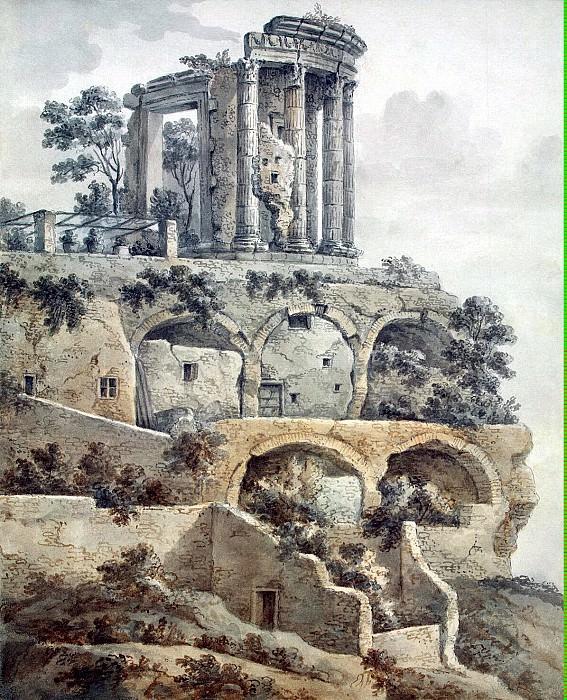 Клериссо, Шарль-Луи - Храм Сибиллы в Тиволи. Эрмитаж ~ часть 6