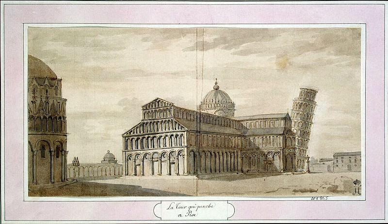 Клериссо, Шарль-Луи - Падающая башня в Пизе. Эрмитаж ~ часть 6