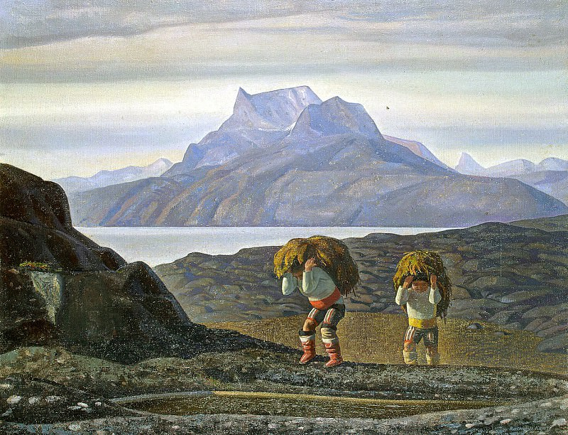 Kent, Rockwell - Womens work. South Greenland. Hermitage ~ part 06