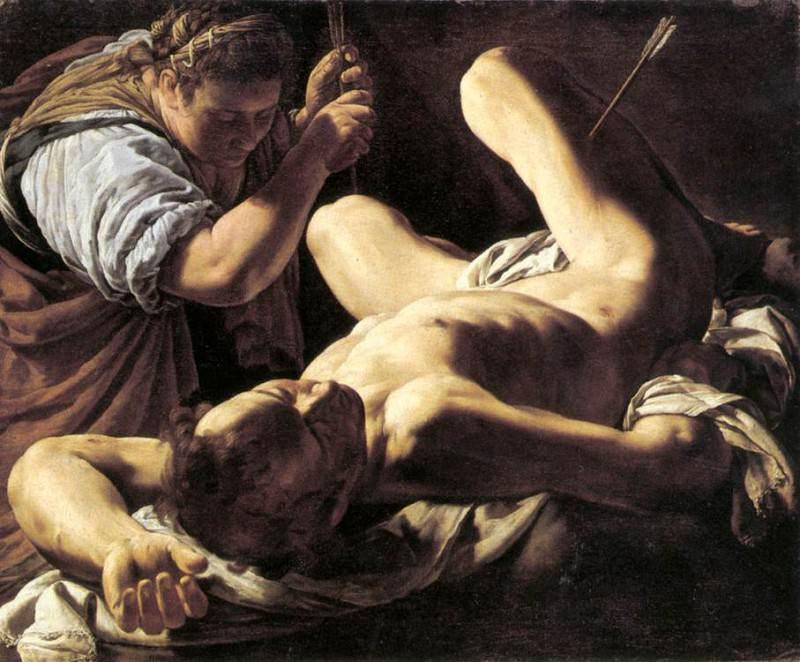 БАССЕТТИ, Маркантонио - Св. Ирена, выхаживающая Св. Себастьяна. Итальянские художники
