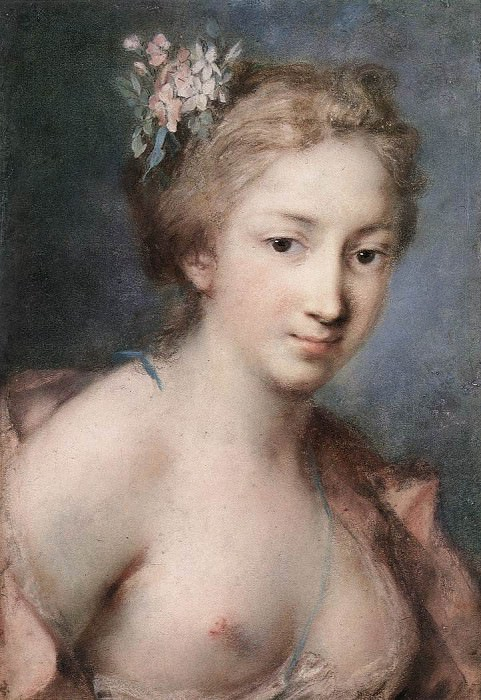 CARRIERA Rosalba Flora. The Italian artists