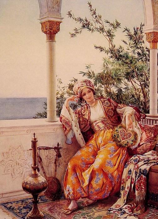 На балконе. Итальянские художники