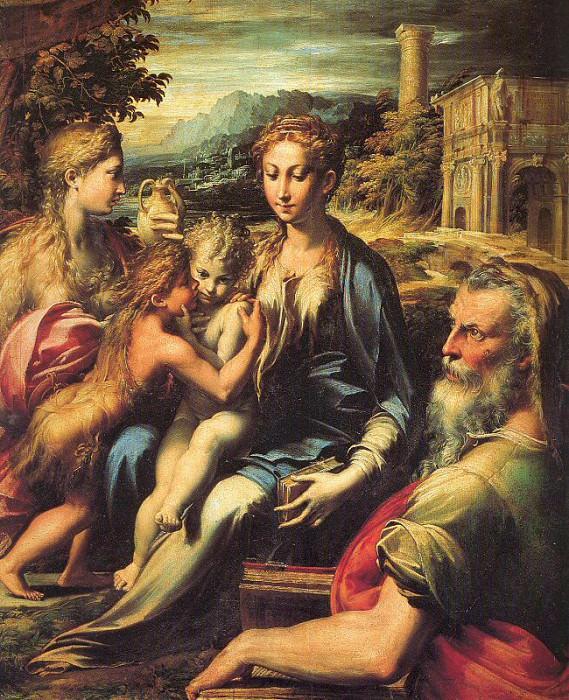 Parmigianino (Italian, 1503-1540) 1. Итальянские художники
