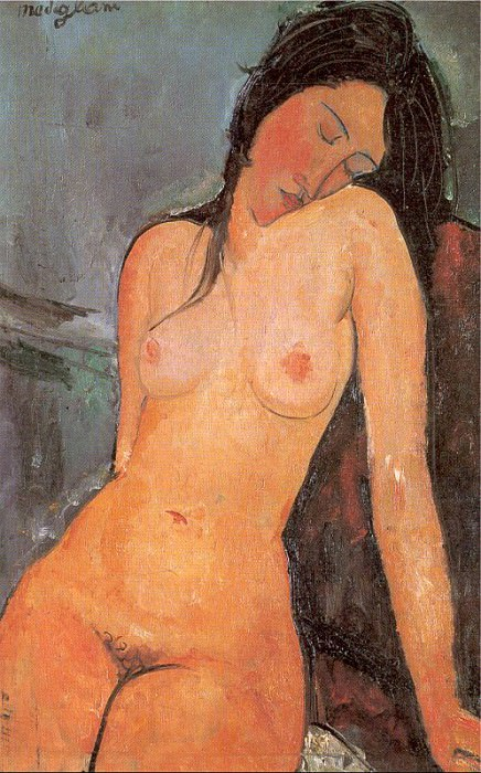 Modigiliani, Amedeo (Italian, 1884-1920) 3. The Italian artists