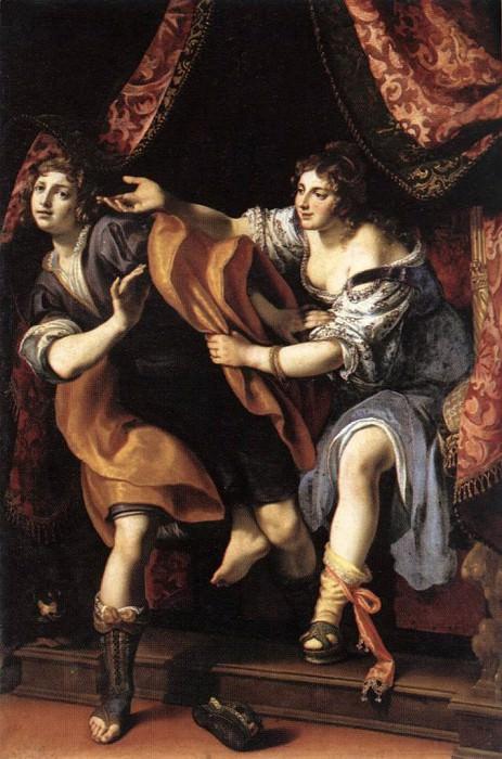 CIGOLI Joseph And Potiphars Wife. The Italian artists