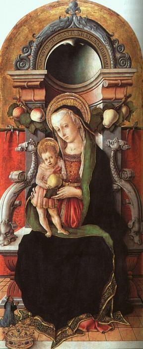 Crivelli, Carlo (Italian, approx. 1430-1495). The Italian artists