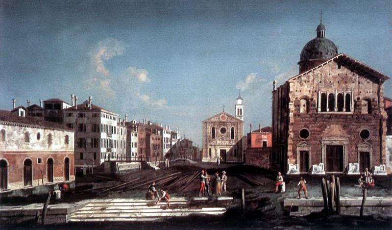 ALBOTTO Francesco San Giuseppe Di Castello. Итальянские художники