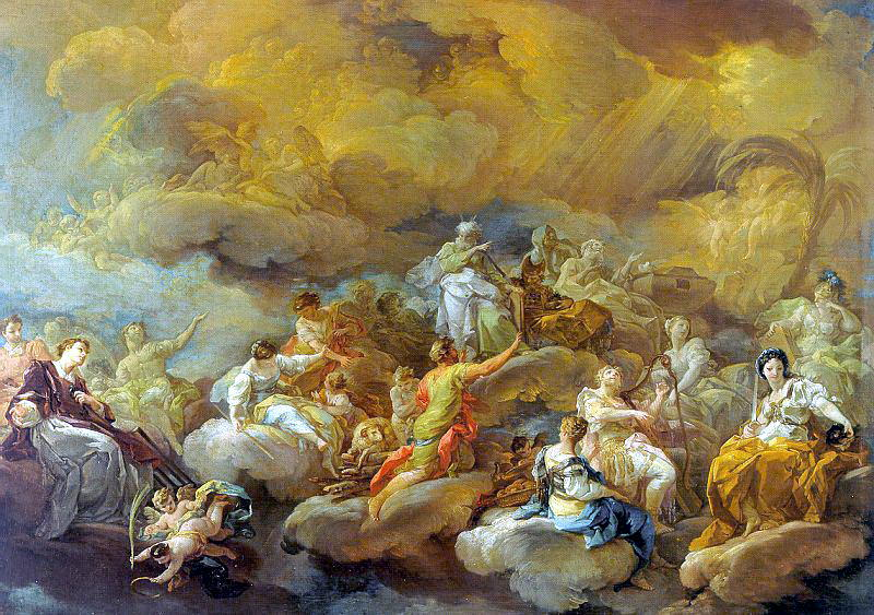 Giaquinto, Corrado (Italian, approx. 1703-1766). Итальянские художники