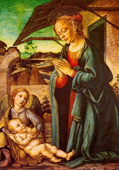 Botticini, Francesco (Italian, 1446-1497). Итальянские художники