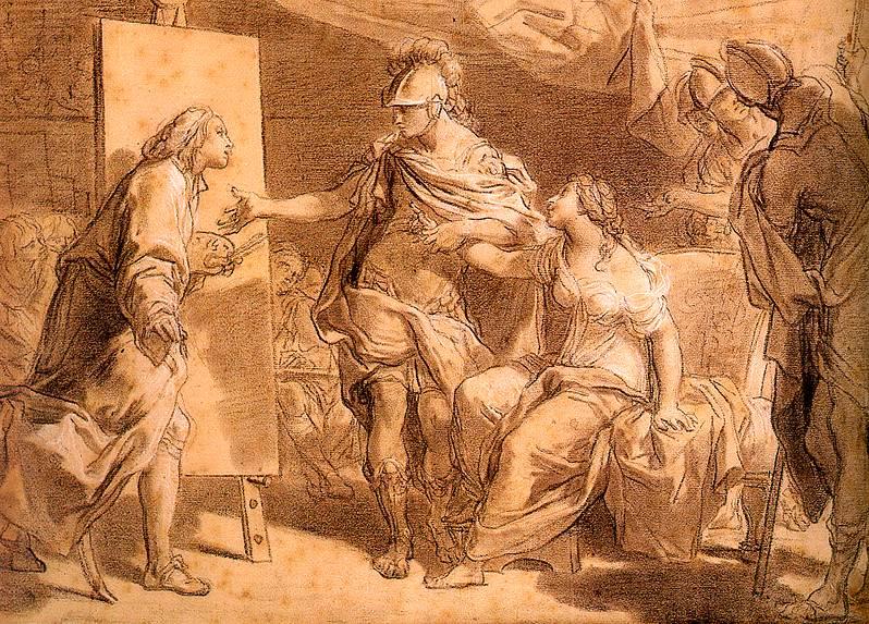 Gandolfi, Gaetano (Italian, 1734-1802). The Italian artists