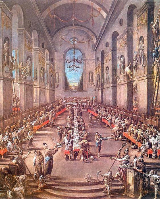Magnasco, Alessandro (Italian, 1667-1749) magnasco2. The Italian artists