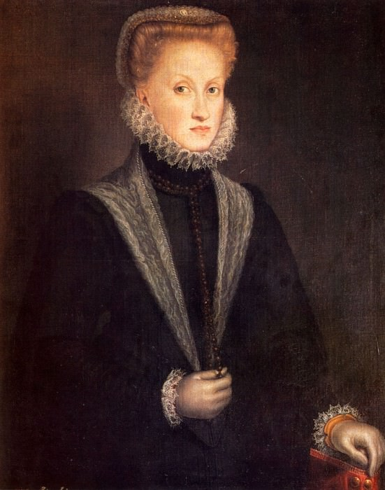 Anguisciola Sofonisba Anne Of Austria Queen Of Spain. Итальянские художники