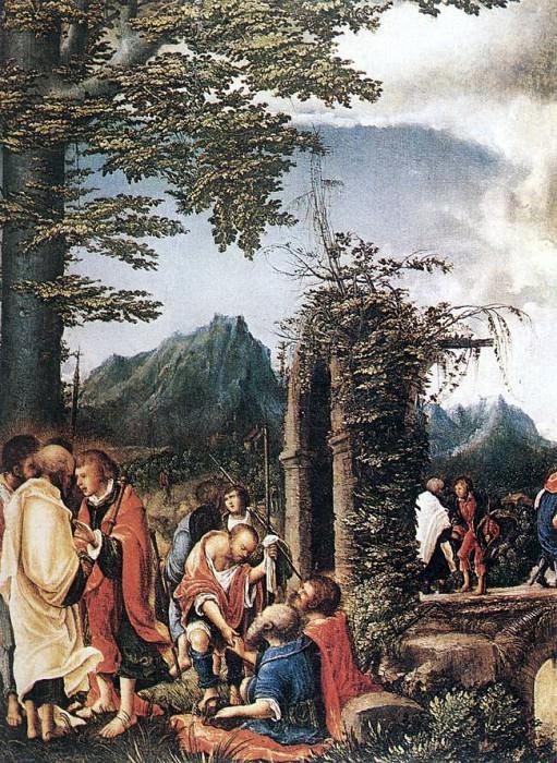ALSLOOT Denis van Communion Of The Apostles. The Italian artists